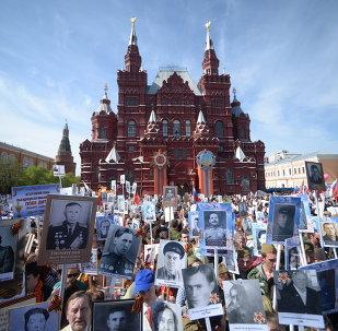 L'action Régiment immortel née en Russie en 2012 en mémoire des combattants ayant participé à la victoire sur le nazisme