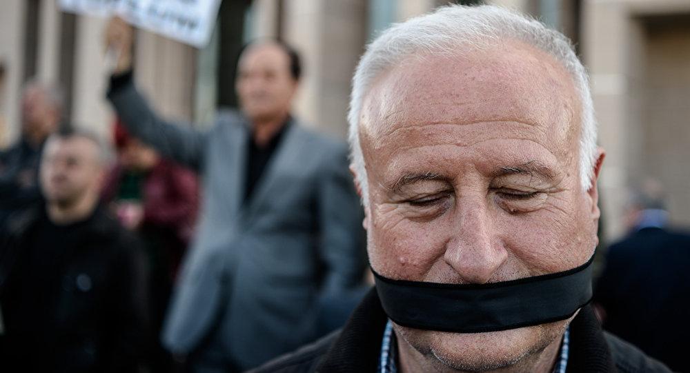 Turquie : manifestation pour la liberté de la presse, Avril 2016