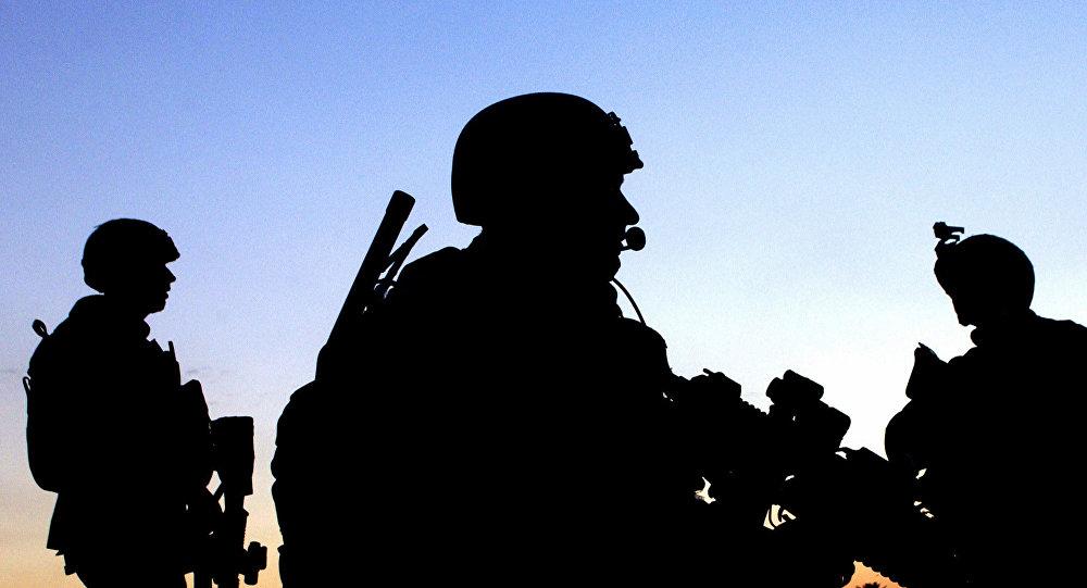 Soldats américains. Image d'illustration