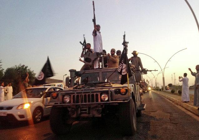 Djihadistes de l'Etat islamique. Archive photo
