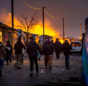 La Jungle de Calais, les habitants locaux n'en peuvent plus