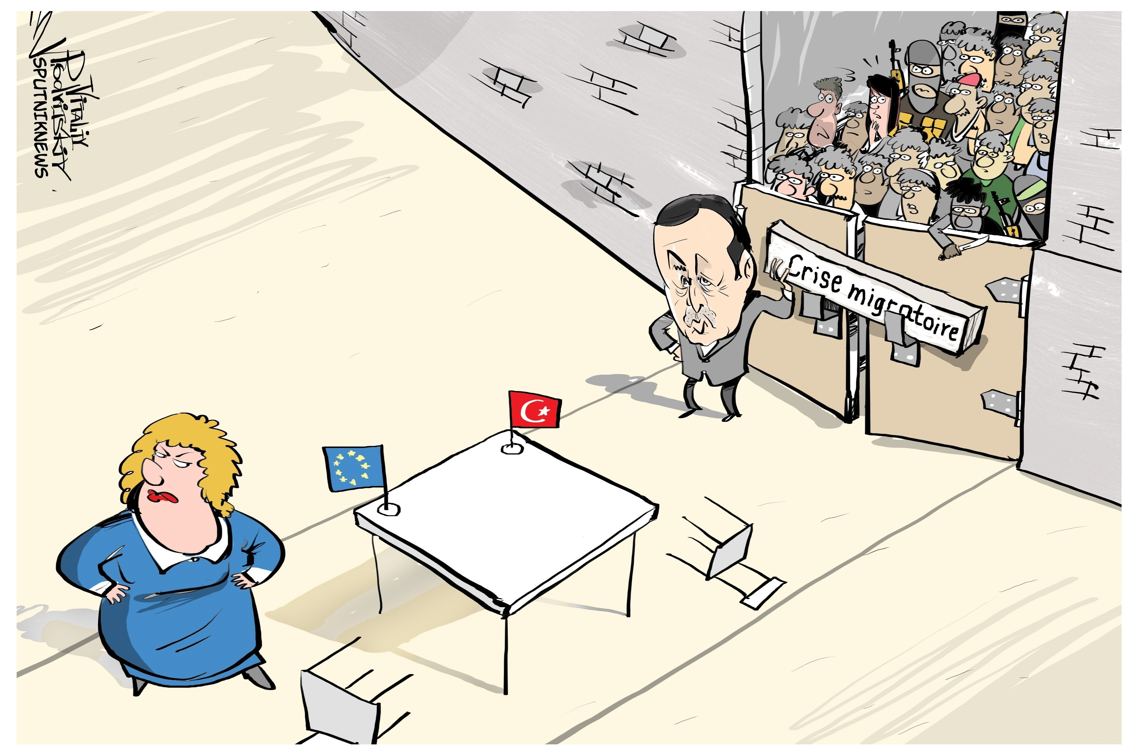 Le régime de visas entre la Turquie et l'UE maintenu?