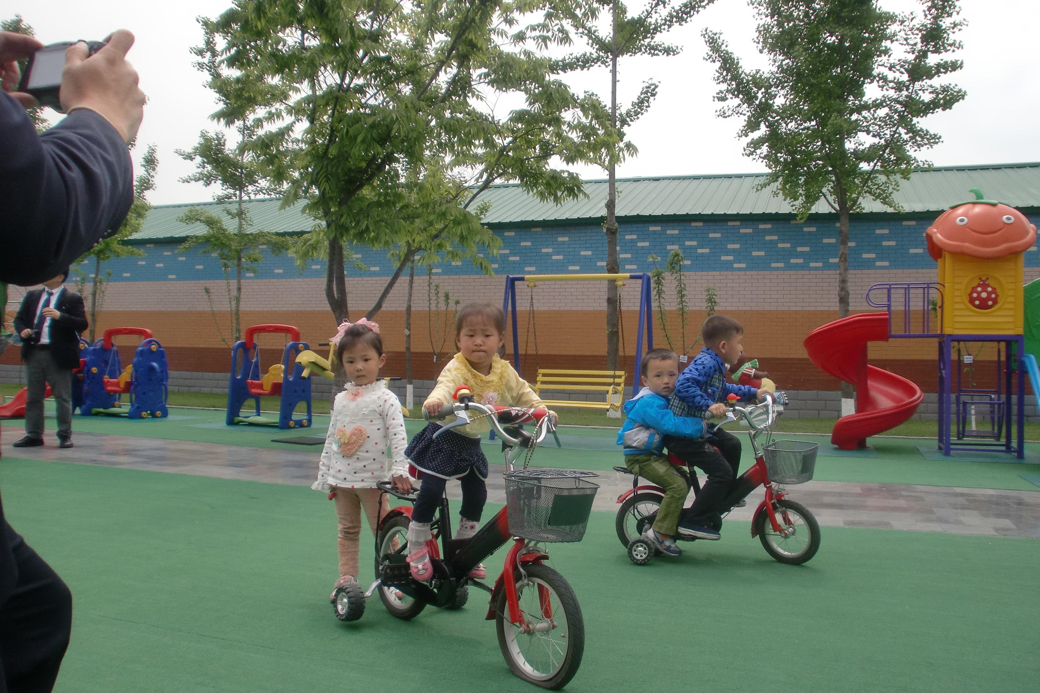 Un jardin d'enfants à Pyongyang