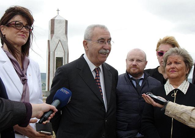 Un groupe de parlementaires italiens en visite en Crimée