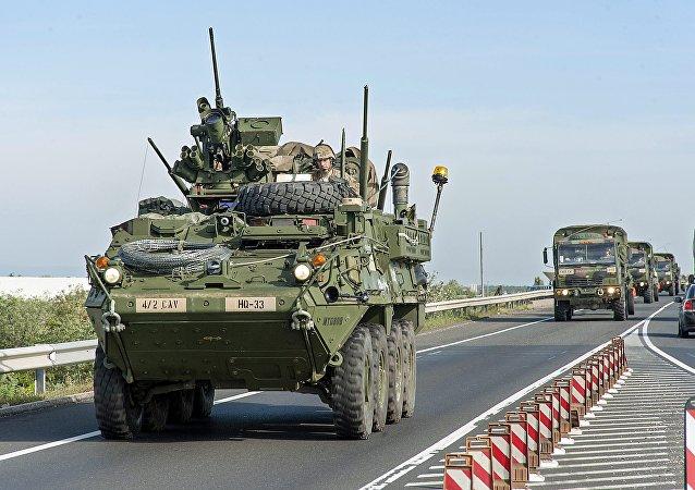Les exercices militaires de l'Otan