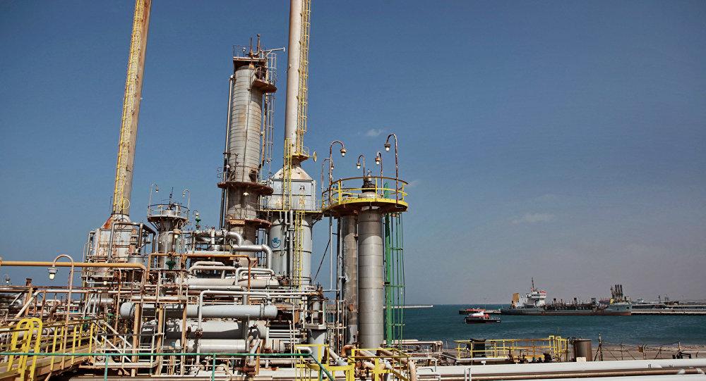 Un terminal pétrolier à Brega, en Libye