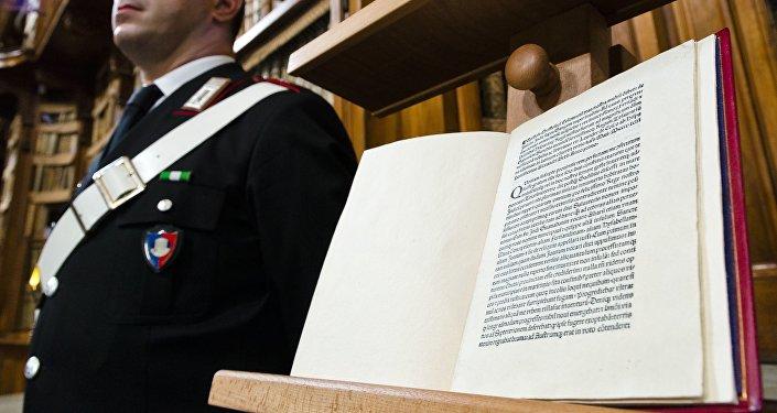 Les États-Unis ont rendu à l'Italie une lettre rédigée par Christophe Colomb en 1493.