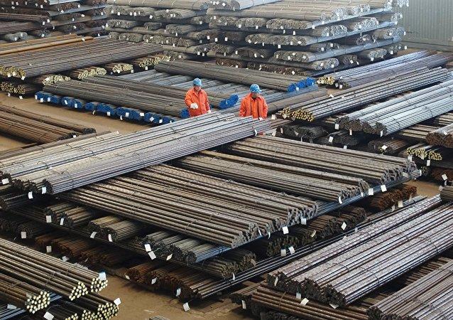 Une aciérie chinoise