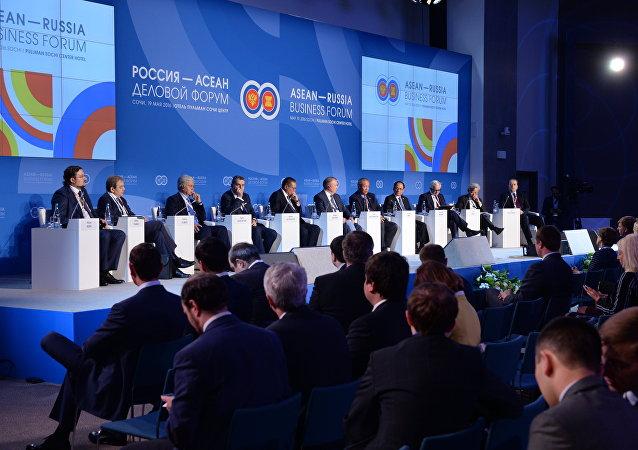Le sommet Asean-Russie à Sotchi