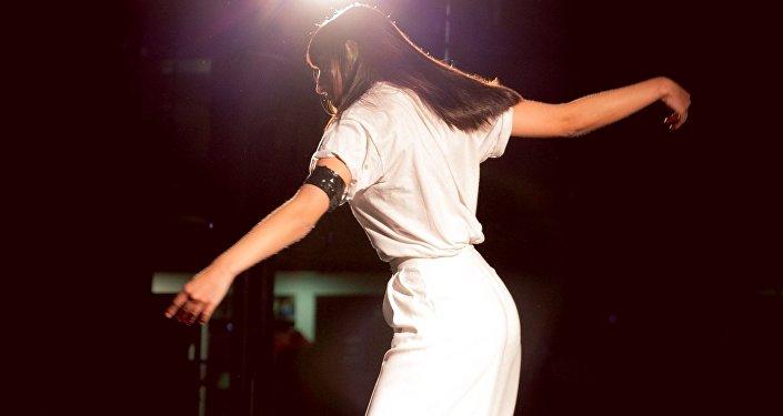 La danseuse et militante espagnole Moon Ribas