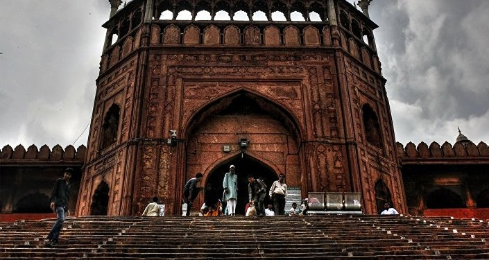 Jama Masjid west gate