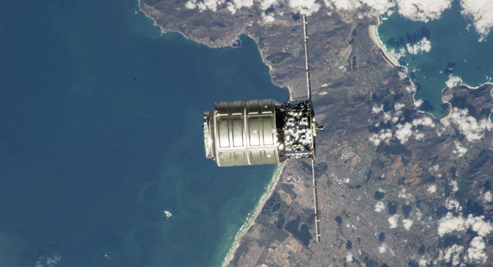 Le vaisseau de transport Cygnus