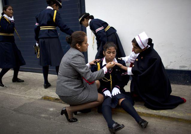 A Pérou, 80 cas de possession démoniaque ont été enregistrés chez des écoliers.