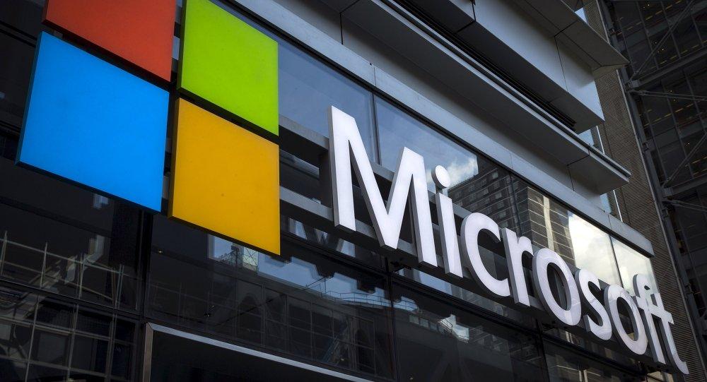 Logo du géant informatique Microsoft