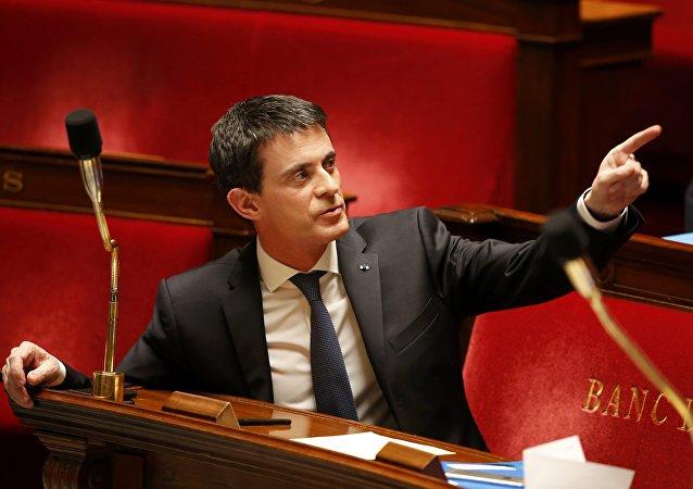Le premier ministre Manuel Valls