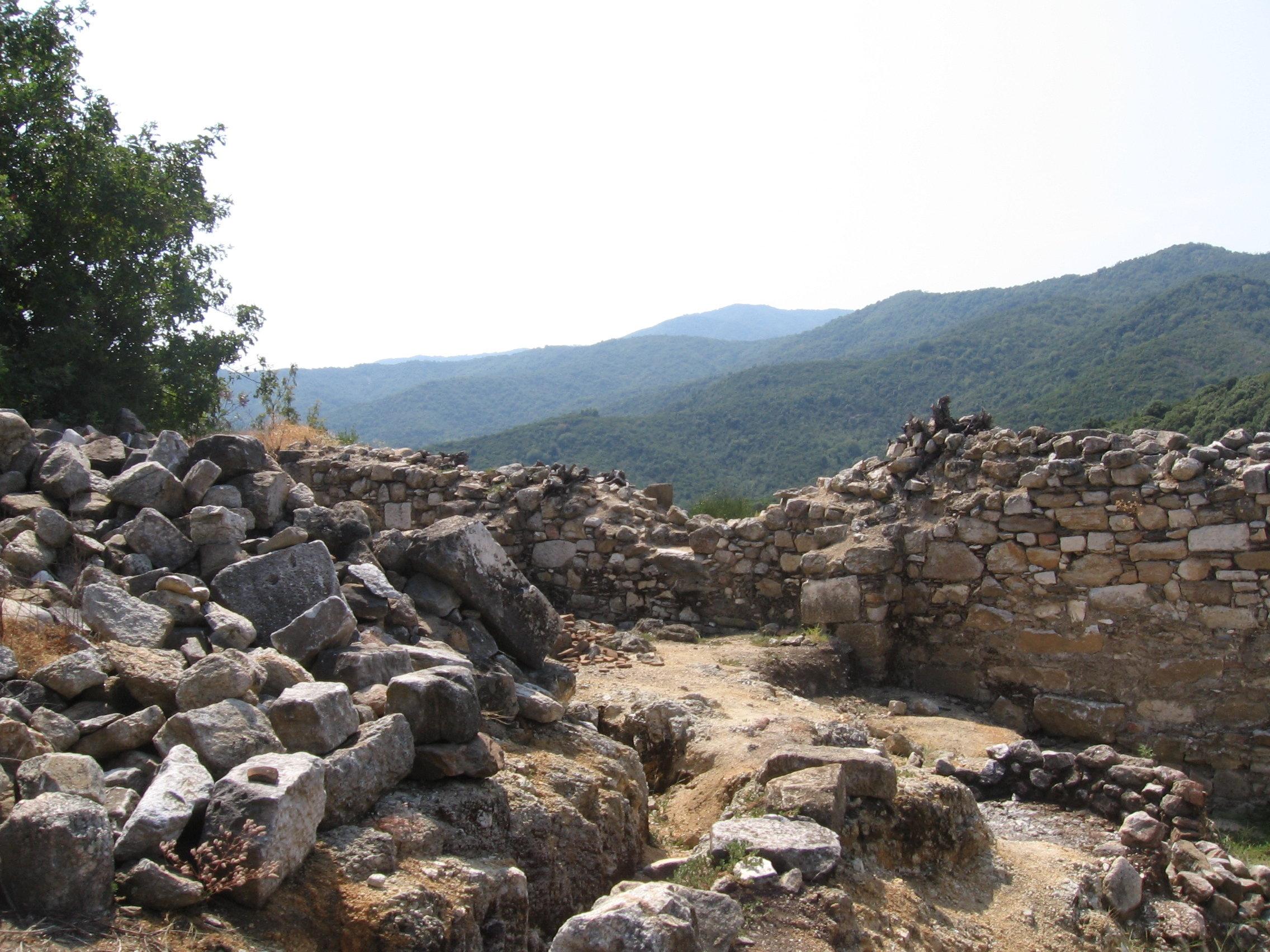 Cité antique de Stagire, en Chalcidique