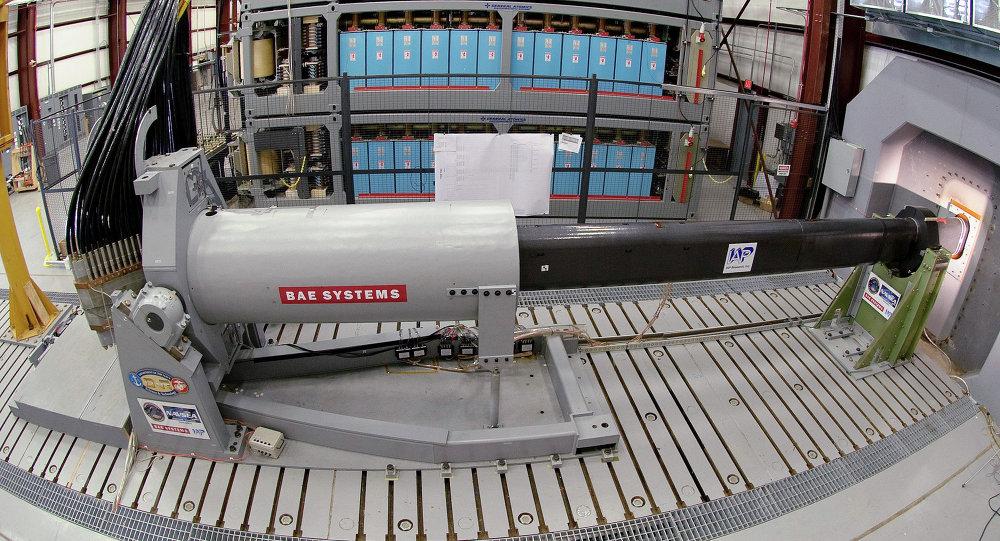 Prototype du  railgun