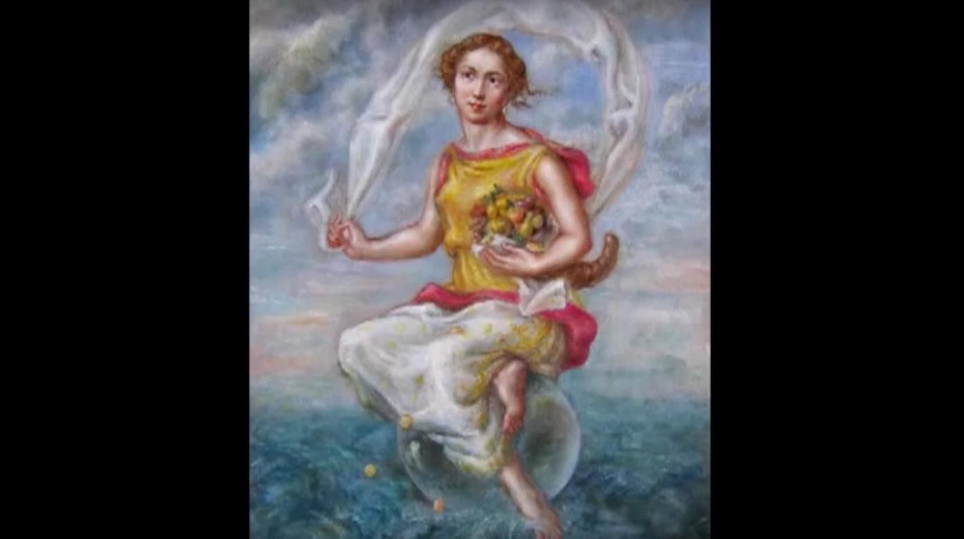 Fortuna, déesse de la mythologie romaine