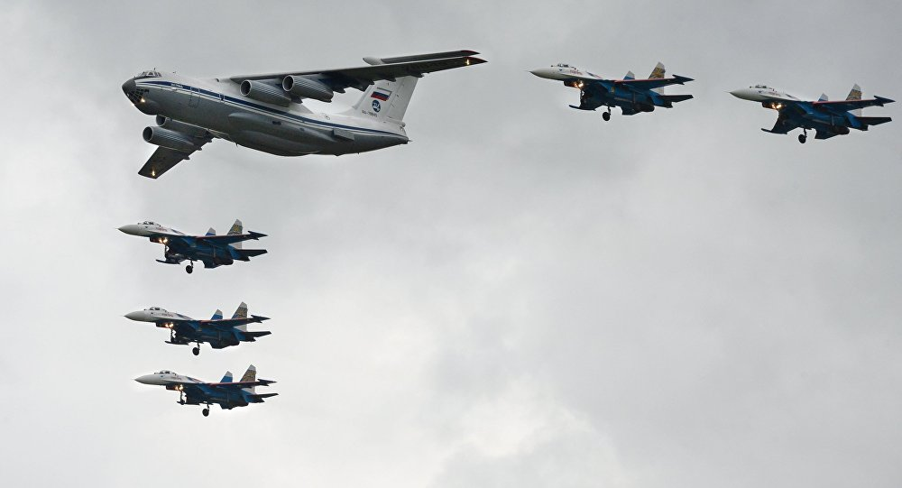 L'avion de transport militaire Illiouchine Il-76