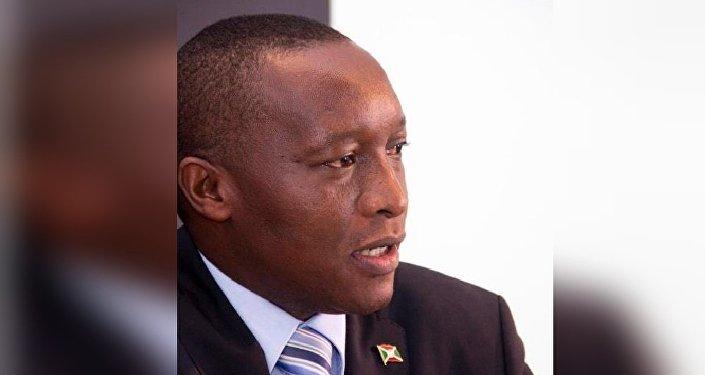 Dr. Edouard Bizimana, ambassadeur du Burundi en Russie
