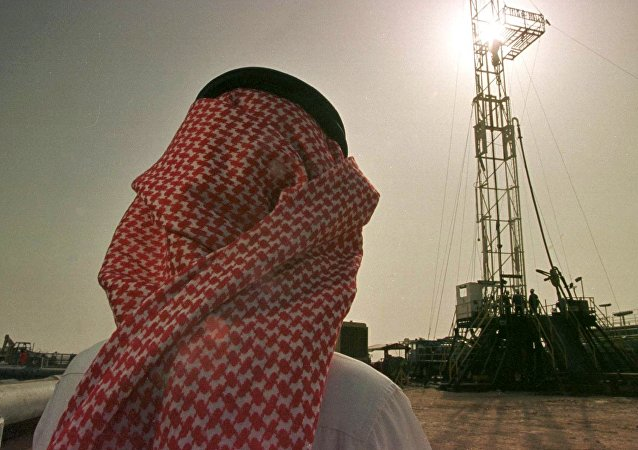 Extraction de pétrole en Arabie saoudite