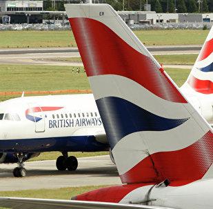 Un avion de British Airways