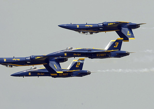 La patrouille acrobatique Blue Angels