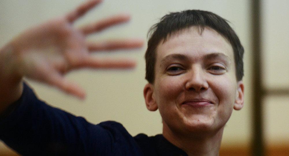 L'Ukraine ne lui suffit pas: Savtchenko entre sur la scène européenne