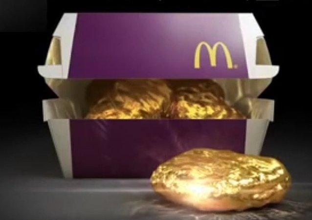 McDonald's offre des nuggets en or 18 carats