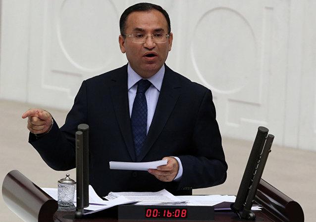 Ministre turc de la Justice Bekir Bozdag