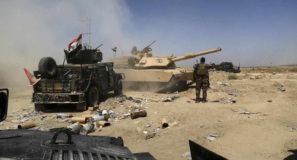 L'armée irakienne entre à Falloujah