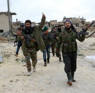 Des djihadistes à Alep