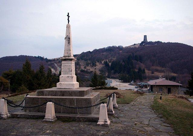 Le col de Chipka, en Bulgarie
