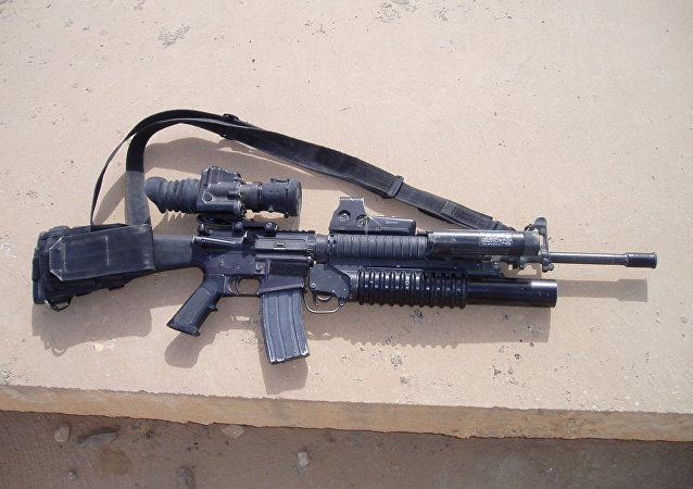 Le fusil M16