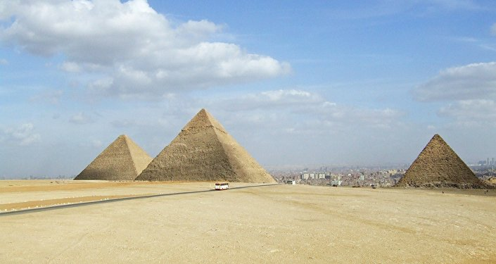 Les pyramides en Egypte