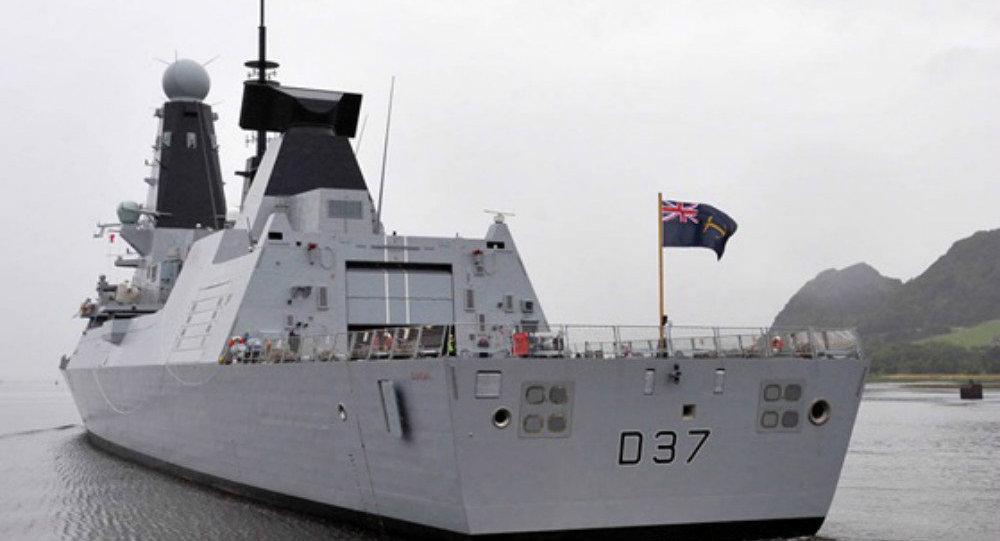 Un deuxième navire de guerre britannique aurait mis le cap sur le Golfe