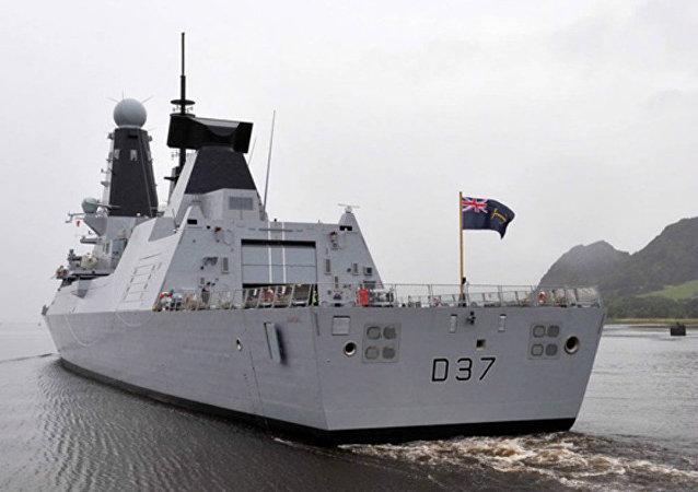 Destroyer HMS Duncan