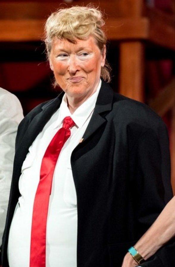 Meryl Streep aime Hillary Clinton au point... de jouer Trump