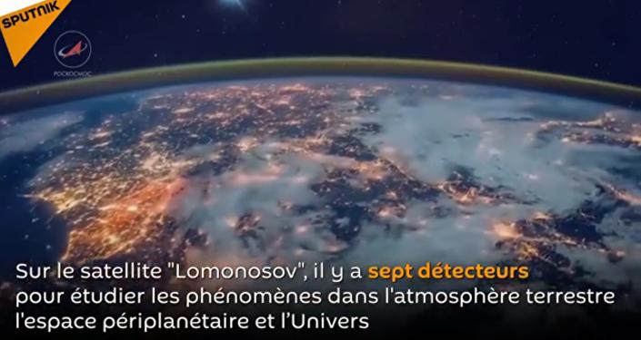 Le satellite russe Lomonosov
