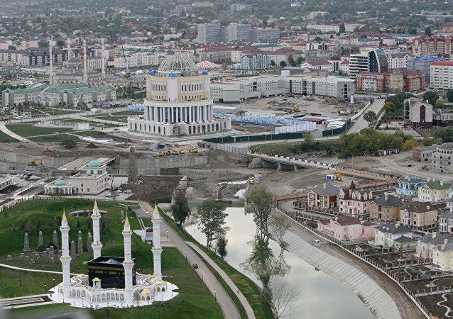 La ville de Grozny