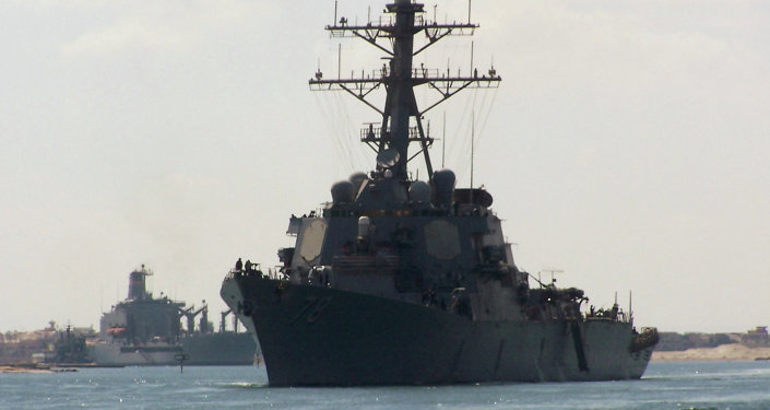 Le destroyer USS Porter