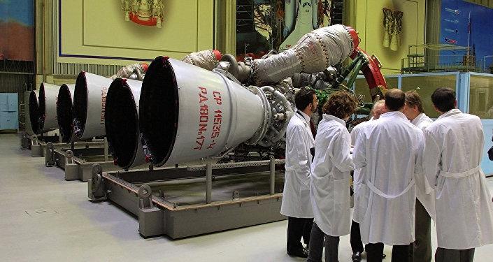 Des moteurs de fusée RD-180