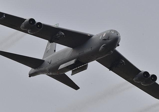 Bombardier stratégique américain B-52