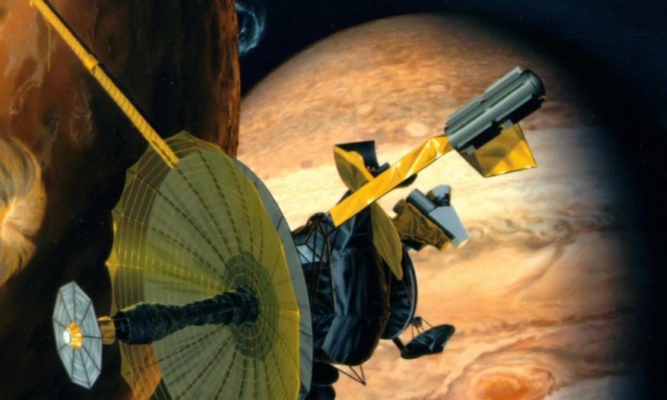La station interplanétaire Galileo