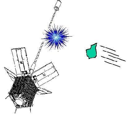 Le satellite artificiel militaire français Cerise