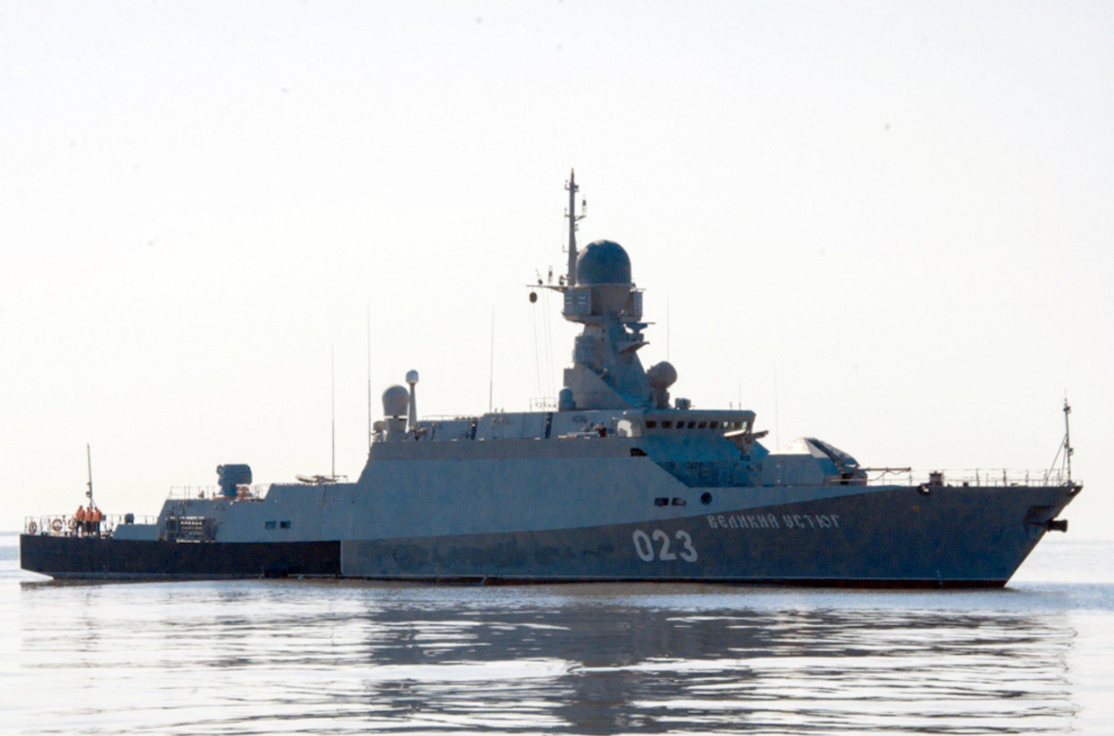 Bateau lance-missile Veliki Oustioug