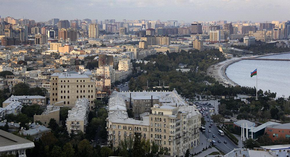 Bakou, la capitale azerbaïdjanaise