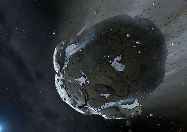 Astéroïde. Image d'illustration