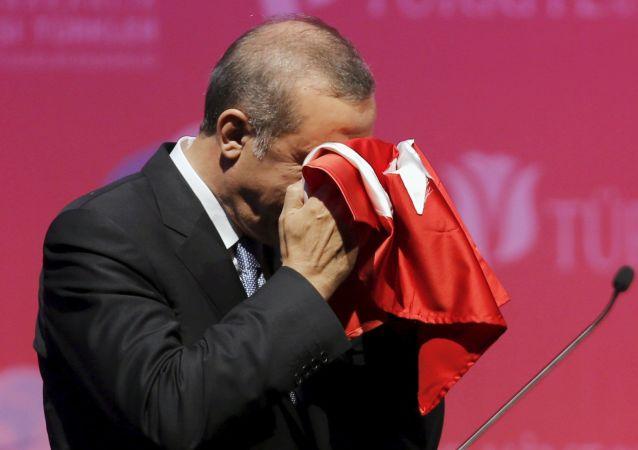 Der türkische Präsident Tayyip Erdogan