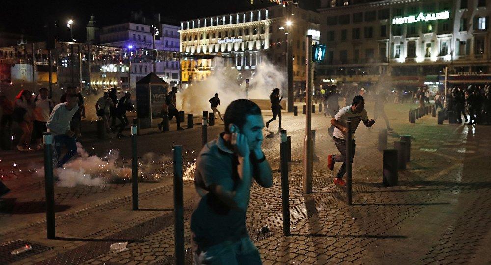 Supporters ont mis le centre de Marseille dans un état épouvantable